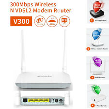 Brand New Tenda V300 Wireless 300 Mbps VDSL2+/ADSL2+ Modem Router