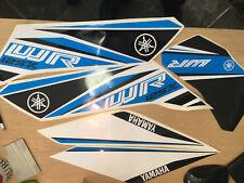 5 piezas Kit de Calcomanías Adhesivas Para Yamaha WR 125x 09-17 Azul Remanufactured