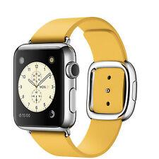 Smartwatches aus Leder mit iOS-Betriebssystem und 8GB Speicherkapazität