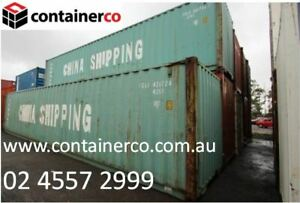 Great Condition 40FT Shipping Container - Limited Quantity Includes GST