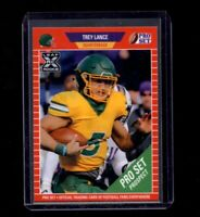 2021 Leaf Pro Set #PS10 Trey Lance San Francisco 49ers XRC RC Rookie Card