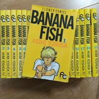BANANA FISH Akimi Yoshida vol. 1-19 Complete set Comics Manga anime USED Yellow