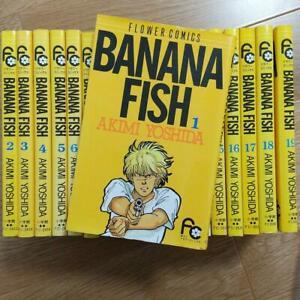 BANANA FISH Japanese ver Akimi Yoshida vol.1-19 Complete set Comics Manga anime