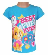 Camisetas y tops de niña de 2 a 16 años de manga corta en azul