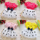Hot sell Baby Toddler Girls Princess Party Layered Bowknot Dot Tulle Dress 0-4Y