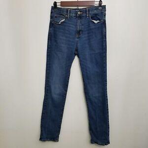 Old Navy Jeans Boys Karate Slim Fit 16 Built In Flex Medium Wash Whiskered