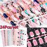 acrylique couverture complète nail art patch ongle faux ongles des faux ongles