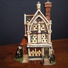 Dept 56 Mordecai Mould Undertaker Dickens Village All Hallows Eve Halloween