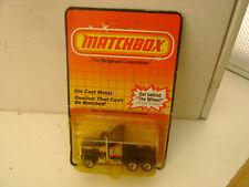 1983 MATCHBOX SUPERFAST #41 BLACK KENWORTH AERODYNE TRUCK NEW ON DAMAGED CARD