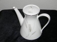 Rosenthal China, Regina Platinum Teapot - Pattern 3761