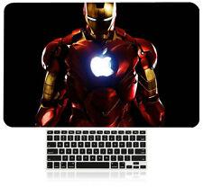 "Hard Case Shell +Keyboard Cover Macbook Pro 13/15"" Air 11/13"" Retina Wood Block"