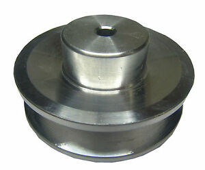 RDGTOOLS 2 1/2 '' VEE PULLEY VARIOUS BORES METRIC IMPERIAL A SECTION V BELT
