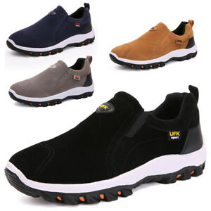 Mens Slip On Boat Deck Mocassin Athletic Loafers Trainers Driving Climbing Shoes