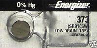 1 Energizer 373 Silver Oxide Battery-SR916SW
