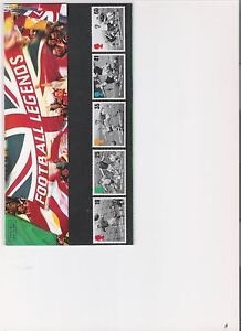 1996 ROYAL MAIL PRESENTATION PACK FOOTBALL LEGENDS MINT DECIMAL STAMPS