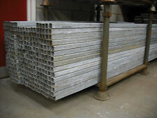 Box Section used.40 x 40 x 3mm, Galvanised Fence Posts 2.4mt,Used
