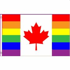 Gay Pride Flag Canadian Pride Flag
