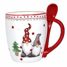 Gisela Graham Nordic Gnome Mug and Spoon 39901