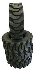 4 New Tires 10 16.5 Savage Heavy Skid Steer 12 Ply DeepTread 42/32 10x16.5 FS