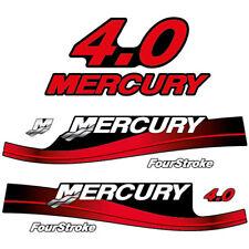 Mercury 4.0 Four Stroke outboard (1994-1998) decal aufkleber adesivo sticker set