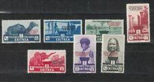 ITAL.-ERITREA, 1934 Freimarken mit Aufdruck 214-20 *, (27269)