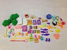 VINTAGE 90'S kenner LITTLEST PET SHOP accessories LOT 60+  Hard To Find Pieces
