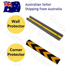Heavy-Duty Rubber Wall and Corner Protector Guards - Carpark & Warehouse Safety