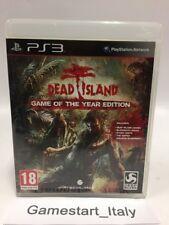 DEAD ISLAND GAME OF THE YEAR EDITION - PS3 - VIDEOGIOCO USATO FUNZIONANTE - PAL