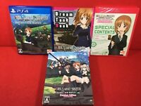 Used PS4 Girls und Panzer Dream Tank Match Premium Edition First Limited F/S