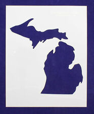 "State of Michigan Stencil 8"" x 10"" -14 mil Mylar Painting/Crafts"