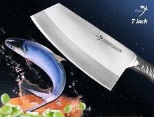 Handmade Japanese VG10 Steel All Purpose Cleaver 7 inch Vegetable Knife NEW!