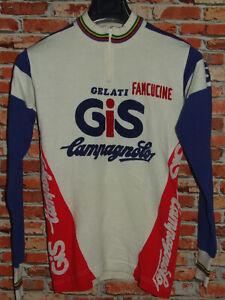 Shirt Bike Shirt Maillot Cycling Heroic Vintage 70'S Gis Campagnolo 80% Wool