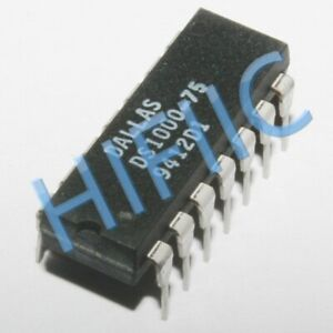 1PCS DS1000-75 5-Tap Silicon Delay Line DIP14