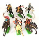 Britains Ltd Cowboys Indians Mexican: 6 Soldiers, 6 Horses. Made in China. 1:32