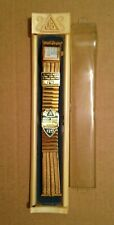 "JB Champion Gold Color Watch Band Calendar 18mm 19mm 3/4"" inch Vintage Mens"
