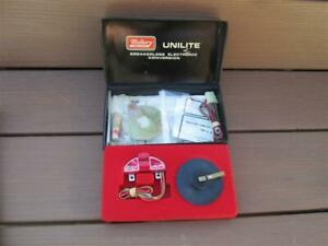 NOS Mallory Unilite Electronic Ignition Conversion Kit New In Padded Display Box