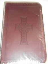 English Standard Version Bible ESV Pocket Size with Embossed Cross 2005 Sealed