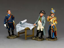 King & Country Napoleon & his Aide De Camps NA375