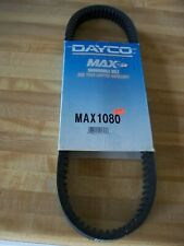 Dayco, Max1080, Snowmobile, Drive Clutch Belt, New Old Stock