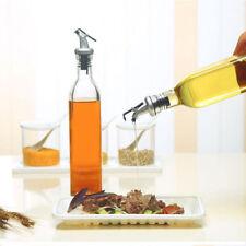 Olive Oil And Vinegar Dispenser Cruet Pourer Bottle Kitchen Cooking Spout 500ml