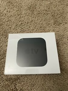 Apple TV 4K HD Media Streamer MP7P2LL/A Black Brand New Sealed