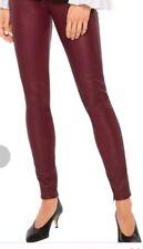 "NUOVO Donna Stretch Pelle Leather Pantaloni Dolce Gabbana XS/S bordo: "" ORIG.ca.1100 €"
