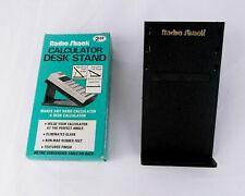 Vintage Radio Shack Calculator Desk Stand Cat No 65-701 in OEM Box