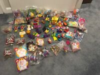 McDonalds Burger King 90s Happy Meal Toys Batman, Disney, Looney Toon Huge Lot !