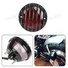 Side Mount Motorcycle License Plate Bracket Brake Tail Light For Harley Chopper