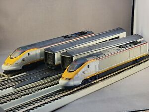 Jouef / Hornby HO Scale Eurostar With Coaches