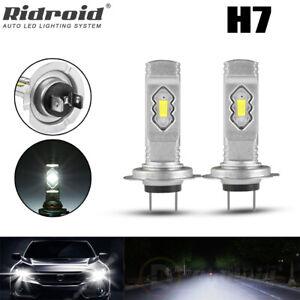 H7 LED Headlight Bulb Conversion Kit 6000K 110W 8000LM High Power Hi/Lo Beam 2x
