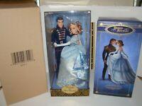 Cinderella And Prince Charming Disney Fairytale Couple Designer Collection LE