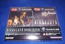 RESIDENT EVIL BIOHAZARD DOUBLE FEATURE GAMECUBE