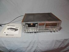 Vintage Sharp Computer Controlled Stereo Cassette Deck RT-3388A For Repair